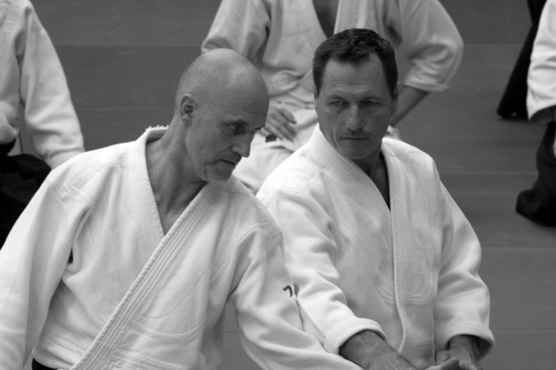 Christian Tissier and Philippe Gouttard